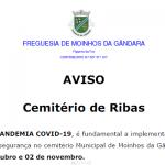 Aviso – Cemitério de Ribas