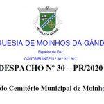 DESPACHO Nº 30 – PR/2020