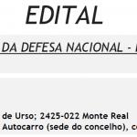 CONVOCAÇÃO PARA O DIA DA DEFESA NACIONAL – RESIDENTES EM PORTUGAL