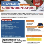 """Seminário Online """"Sobreviver e Prosperar"""""""