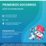 PRIMEIROS SOCORROS – AÇÃO DE SENSIBILIZAÇÃO