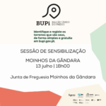 BUPI – Balcão Único do Prédio – Ação de sensibilização