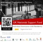 OIM – Fundo de Apoio a Nacionais do Reino Unido (UKNSF): Assistência presencial para registo de residência