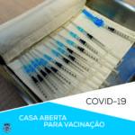 CMFF- Vacinação COVID | divulgação – CASA ABERTA PARA VACINAÇÃO MIGRANTES
