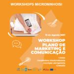 Workshop –  Plano de Marketing e Comunicação