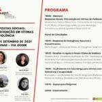 """Webinar – """"Respostas Sociais: Intervenção em Vítimas de Violência"""""""