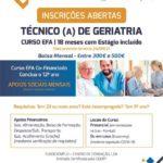 Curso EFA – Técnico de Geriatria